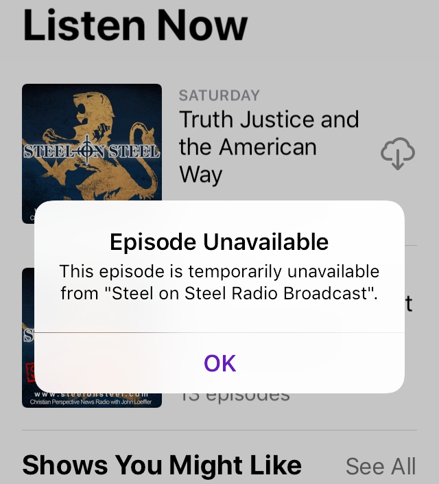 Episode Unavailable